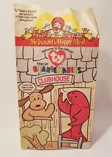 1998 McDonalds TY Beanie babies set of 12 with Happy Meal Bag Retired