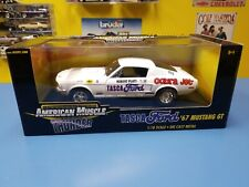 """ERTL  AMERICAN MUSCLE  THUNDER TASCA FORD '67 MUSTANG GT """"NEW"""""""