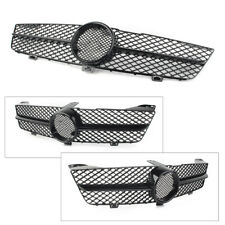 Front Grille Grill for Mercedes-Benz W219 CLS CLASS 02 / 08-07 / 10 Glossy Black
