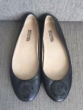 Sale 65% Off! New Authentic Michael Kors Driver Flats Patent Leather Black Sz6.5