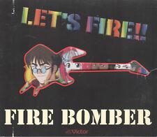 Let's Fire!! (Macross 7) Fire Bomber (CD, Victor) Japanese Anime Soundtrack
