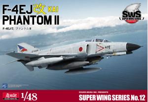 Zoukei-Mura 1/48 F-4EJ Kai Phantom II Scale Aircraft Model Kit SWS48-12