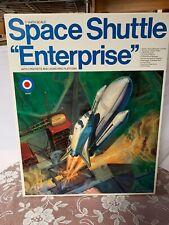 Nasa Space Shuttle Enterprise Entex Model Kit - 1:144 - #8529 Sealed Parts