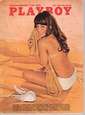 July 1969 Playboy Rod Steiger Nancy McNeil Barbi Benton Tina Aumont