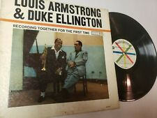 """Louis Armstrong/Duke Ellington """"Recording Together For the First Time"""" Roulette"""