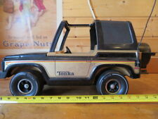 Vintage 1970's Tonka Metal Bronco Jeep Mighty Adventure Buggy Jack Tire Gas Can