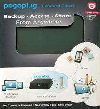 Pogoplug Hard Drive Backup Personal Cloud PC Android-IPhone-IPad-Mac NEW
