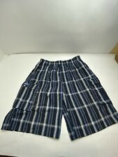 Shaka Wear Blue Cargo Shorts with Drawstring Size 2XL Bag Unstitch, Holds Seepic