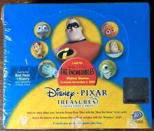 2004 Disney Pixar Treasures Collectible Cards Booster Box Reel Piece Of History