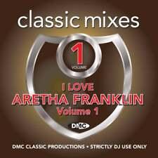 Aretha Franklin Megamixes & 2 Trackers Mixes Remixes FT Whitney Houston DJ CD