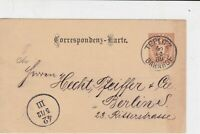 austria 1899 stamps card ref 20905