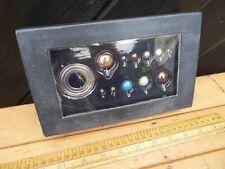 Eaglemoss Build a Model Solar System / Orrery Gemstone Planets Set - boxed set