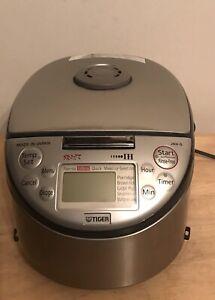 Tiger Rice Cooker/Warmer JKH-G10U, 5.5-Cup Made In Japan