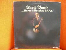 VINYL MAXI – DAVID BOWIE : BERTOLD BRECHT BAAL – 5 SONGS – 1982 RCA FR