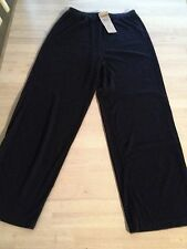 WORLDS APART BLACK KNIT PANTS SIZE LARGE NWT