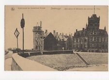 Kusttelegraf en Stattsdienst Huizen Zeebrugge Belgium Vintage Postcard 186a
