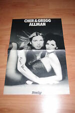 GREGG ALLMAN signed Autogramm auf 29x42 cm Poster InPerson LOOK