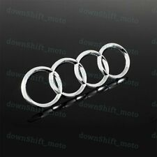New For Audi Rings Chrome Back Rear Trunk A3 A4 S4 A5 S5 A6 S6 Sq7 Badge Emblem