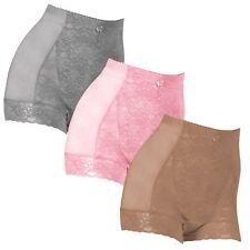 Medium Shear Control 3 Pack Shear Control Underwear, Panites  Pink, Gray, Mocha