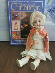 Antique early 20th century Armand Marseille bisque headed doll 390 A 8/OX