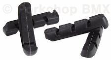 Kool Stop bicycle brake blocks pads refills inserts Shimano Deore LX (4) BLACK
