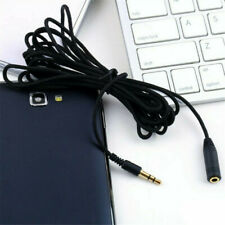 "10ft 3.5mm 1/8"" Stereo Audio Aux Headphone Cable Extension Cord Male to Female//"