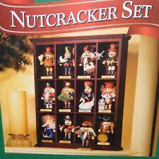 Members Mark Nutcrackers Set 12 Days Of Christmas Display Shelf Wood