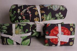 Pottery Barn Poppy cotton percale King comforter & 2 king shams