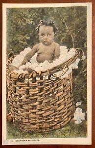 Southern Products Postcard Black Americana C T American Art