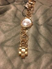 akribos womens watch new in gold tone