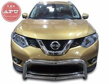 Fits 2014-2018 Nissan ROGUE Stainless Bull Bar Brush Guard Bumper Protector