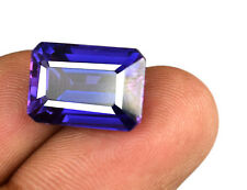 100% Natural Color Changing Sapphire Gemstone 13.05 Ct Octagon Certified C1806