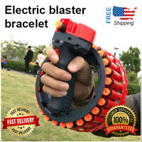 Rapid Fire Dart Blasters Bracelet Electric Soft Play Gun Safety Child Gift New