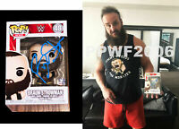 WWE BRAUN STROWMAN HAND SIGNED AUTOGRAPHED FUNKO POP TOY #48 WITH PROOF AND COA