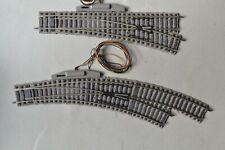 More details for fleischmann progi h0 motorised 6177 curved r/h & 6171 straight r/h ballast grey
