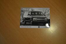 PHOTO DE PRESSE ( PRESS PHOTO ) Chevrolet Astro Van de 1996 GM094