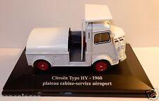ELIGOR HACHETTE CITROEN TYPE H HY 1960 PLATEAU CABINE SERVICE AEROPORT 1/43 BOX