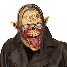 Idena Maschera Testa completa con Capelli Vampiro Zombie (k6r)