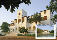 Togo Architecture Stamps 2020 MNH Palace of Governors Tourism Landscapes 1v S/S