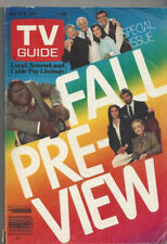 TV Guide Fall Preview 1983-84, Scarecrow & Mrs King, AfterMASH - Denver ed.