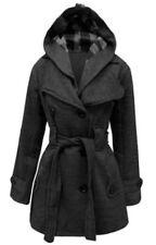 Cappotti e giacche da donna grigi pelliccia m