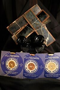 Sawyer Viewmaster Lot  with magic lantern slides included.