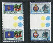 St Kitts 364-365 MNH Girls' Brigade Centenary1993 Gutter pair x28479