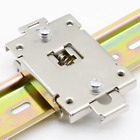 35mm DIN Rail Fixed Solid State Relay Clip Clamp with 2 Mounting Screws