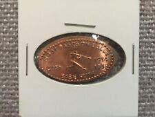 Babe Ruth Most Bases on balls -- elongated/pressed penny