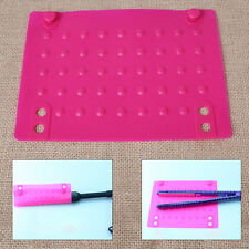 Rose Iron Travel Case Heat Resistant Silicone Mat for Straightener/Curling Iron