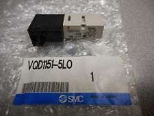 SMC PNEUMATICS VQD1151-5LO SOLENOID VALVE 24VDC 4-PORT SERIES VQD1000 BASE
