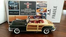 Franklin Mint 1948 Chrysler Town&Country Convertible Woody #B11TU51 NEW IN BOX