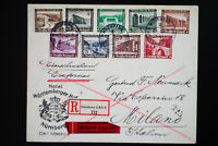 Germany #B82-9 Stamps on First Day Cover FDC