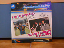 LITTLE RICHARD - GLADYS KNIGHT & THE PIPS la grande storia del ROCK nr. 45